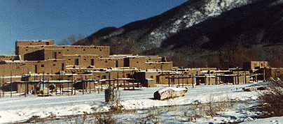 Pueblos North American Native American Indian Pre Contact Housing